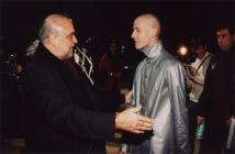 Photo: Vitas and Demis Roussos